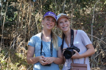 Featured Teens: Lauren and Brooke, Girls Who Click workshop participants